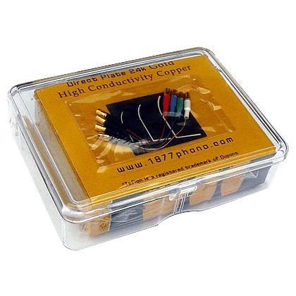 """1877 PHONO """"DEVIL'S HAIR"""" Fils de Litz OFHC 50mm (x4) 1.2 - 1.2"""