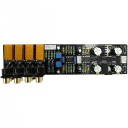 Module preamplifier 2x NE5532 4 entries