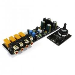 Module buffer selection de source 2x NE5532 4 entrées RCA