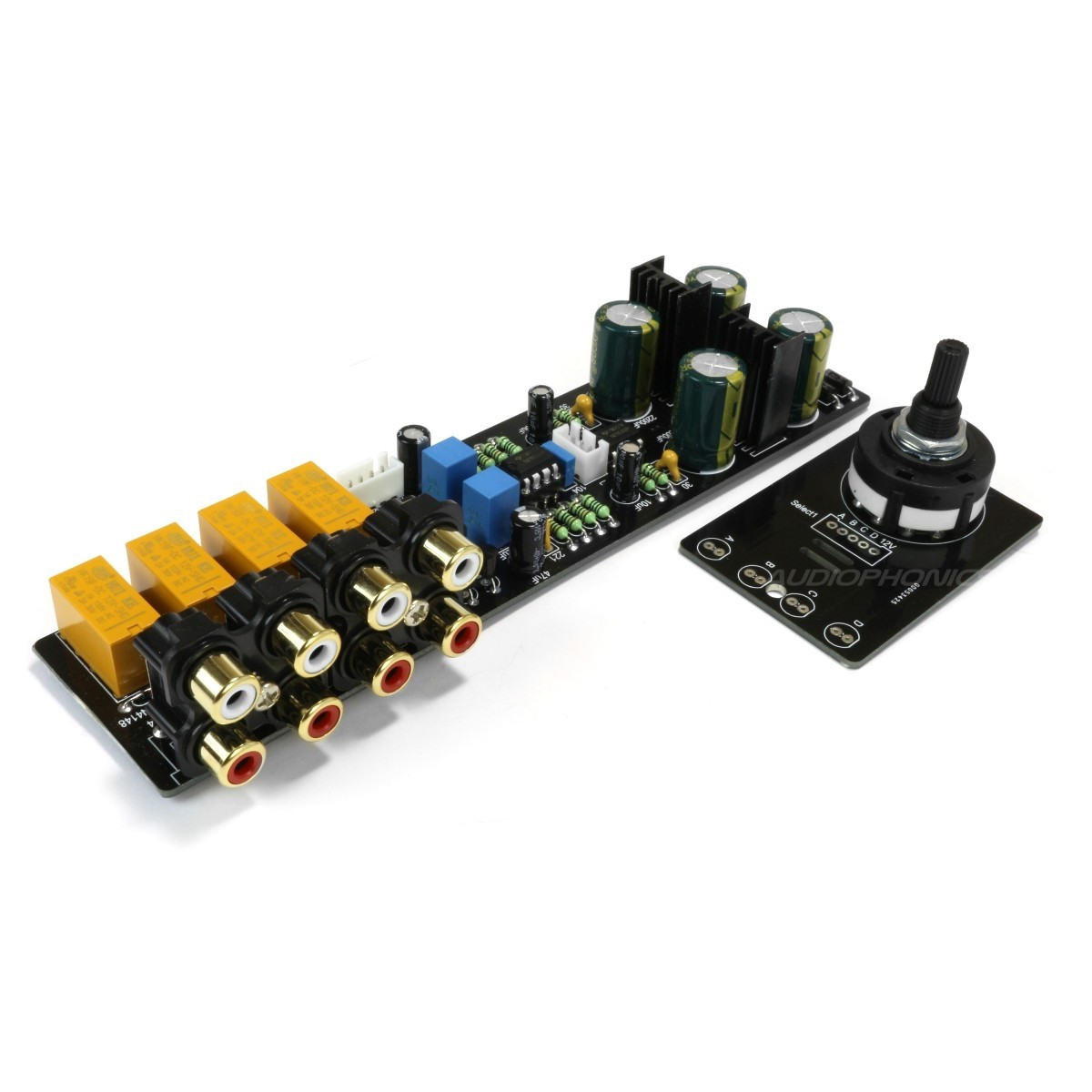 Module buffer source selection 2x NE5532 4 input RCA