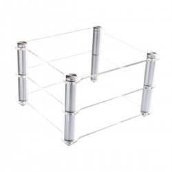 TOPPING RACK HiFi Rack Aluminium Acrylic for PA3 / MX3 / VX3 / D30 / A30