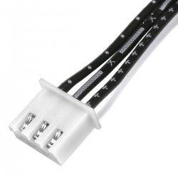 Câble XH 2.54mm Femelle / Femelle 2 Connecteurs 3 pôles 20cm (Unité)