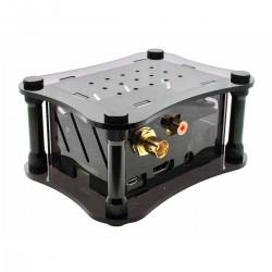 ALLO SIGNATURE + RPI CASE Raspberry Pi 2 / 3 & DigiOne Acrylic Case Black