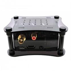 ALLO DIGIONE SIGNATURE + RPI CASE Boîtier Acrylique pour Raspberry Pi 2 / 3 & DigiOne Noir