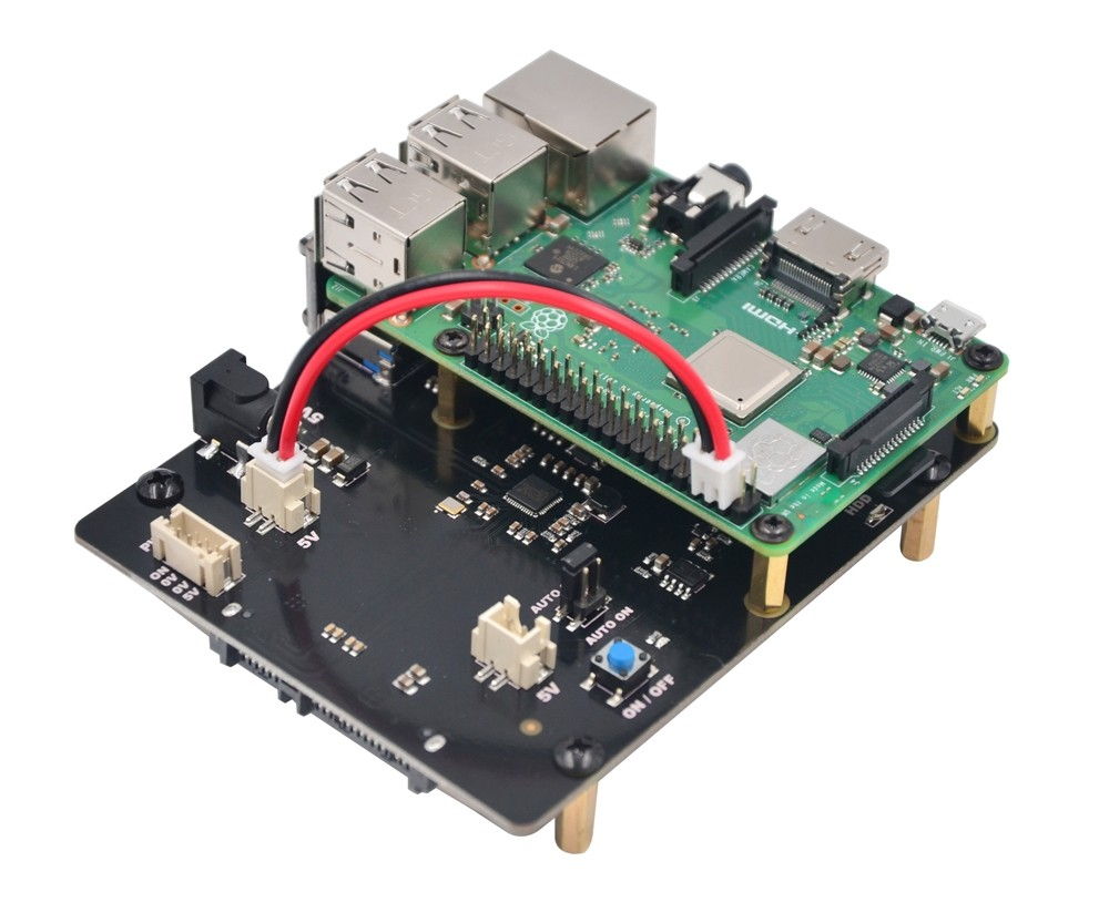"X820 V3.0 Shield SATA 2.5"" HDD / SSD pour Raspberry PI"