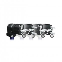 FURUTECH FI-E12L(G) Connecteur Schuko Coudé 90° Ajustable Cuivre Pur Plaqué Or Ø 18mm