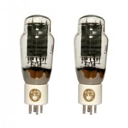 ELECTRO-HARMONIX GOLD 2A3 Tubes de Puissance Appairage Platinum Grille Plaquée Or (Paire Appairée)