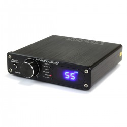 FX-AUDIO D502 Amplifier FDA TAS5342A 2x40W + Subwoofer output / 8 Ohm