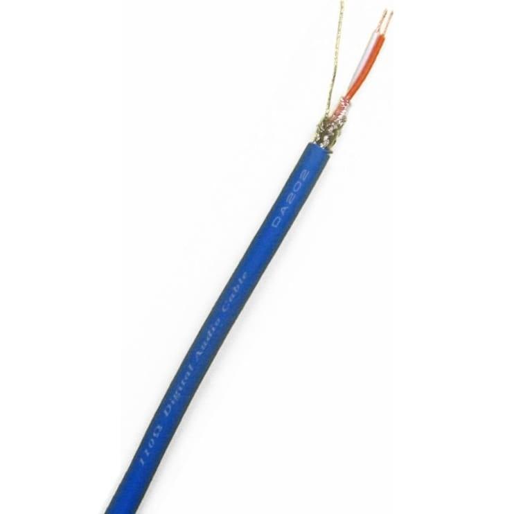CANARE DA202 Câble numérique AES / EBU 110 Ohm 2x0.18mm² Ø5mm