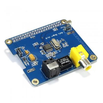 Audiophonics Digipi+ Raspberry PI A+ B+ 2.0 I2S Digital interface