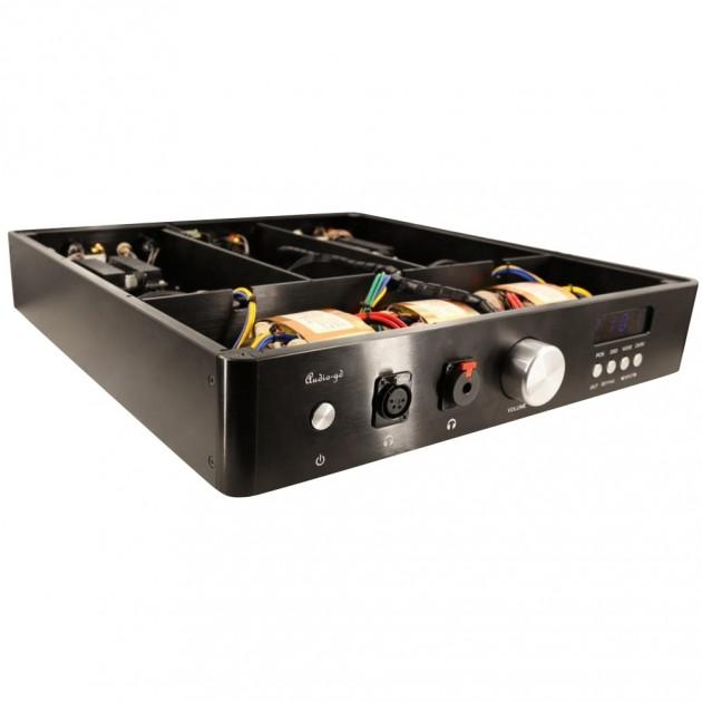 AUDIO-GD D-27 28 Dual ES9028Pro DAC 32bit / 384kHz DSD512 Amanero TCXO  Class A Discrete Headphone Amplifier