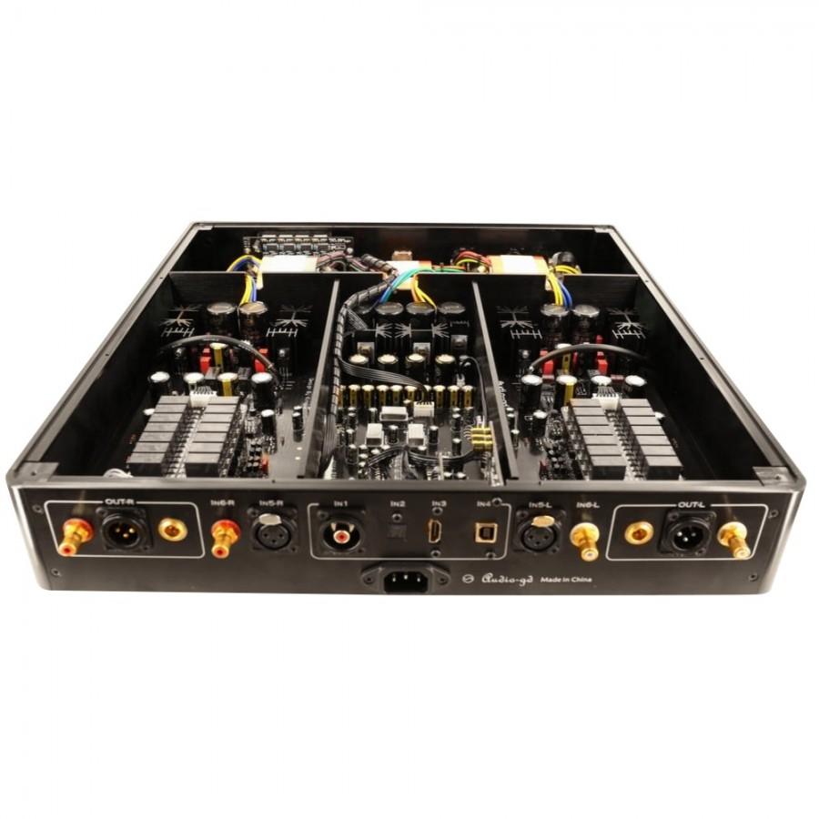 AUDIO-GD D-27 28 Dual ES9028Pro DAC 32bit / 384kHz DSD512 Amanero