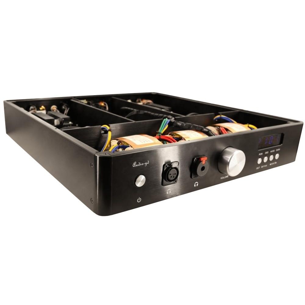 AUDIO-GD D-27.38 DAC Double ES9038Pro 32bit / 384kHz DSD512 Amanero Accusilicon Amplificateur Casque Discret Class A