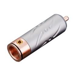 VIBORG VR109 Connecteur RCA Cuivre Pur PTFE Ø 9.5mm