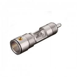 VIBORG VR109G Connecteur RCA Cuivre Pur Plaqué Rhodium PTFE Ø 9.5mm