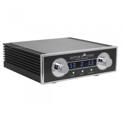 HATTOR AUDIO High Fidelity Balanced Passive Preamplifier Khozmo Attenuator with Takman Rex Resistors