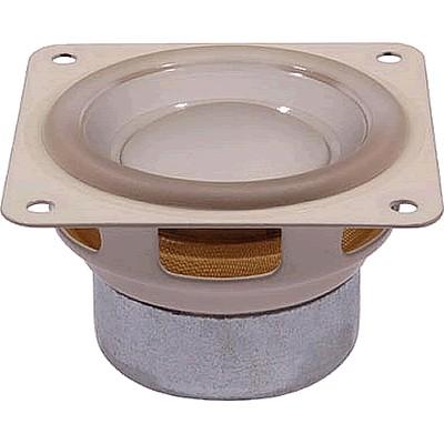 HiVi U2S Haut-Parleur Large Bande Aluminium Anodisé 5W 8 Ohm 83dB 200Hz - 20kHz Ø 5cm