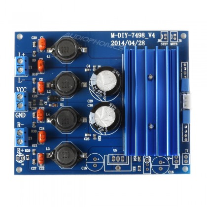 FX AUDIO TDA 7498 class D Amplifier Module 2x100W 8 Ohm