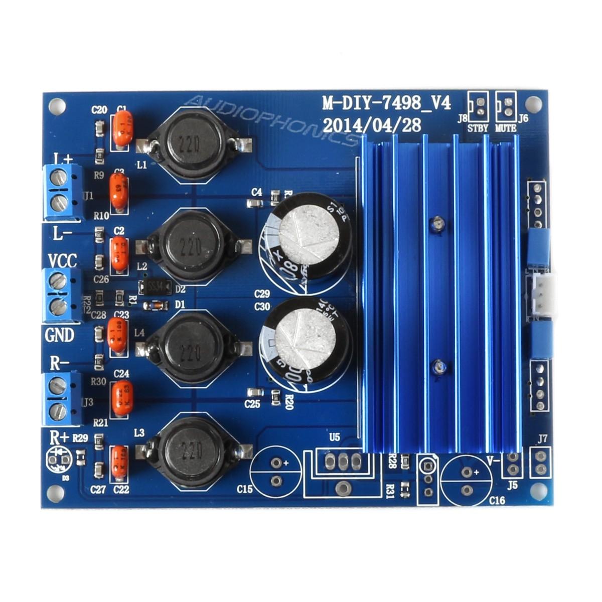 FX AUDIO M-DIY V4 TDA7498 Class D Amplifier Module 2x50W 8 Ohm