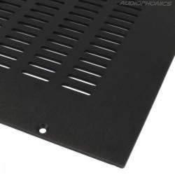HIFI 2000 Capot Aluminium pour Boîtier GALAXY GX343-383 Noir