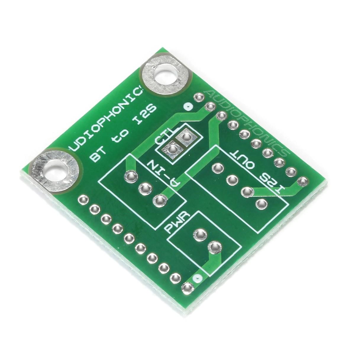 TINYSINE PCB-I2S PCB pour Récepteur Bluetooth I2S Audio-B
