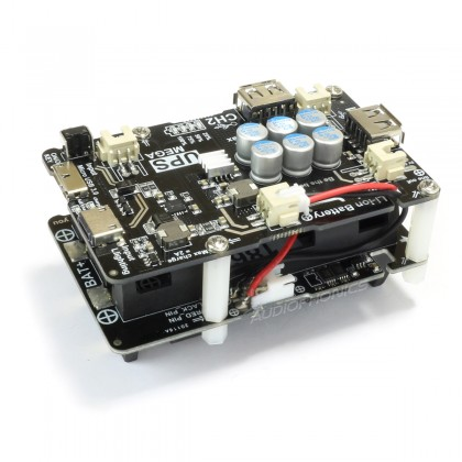External battery 5V / 12000mAh USB output for 3 Raspberry Pi / Pi 2