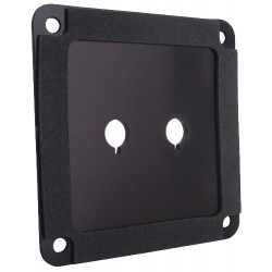 DAYTON AUDIO SBPP-BK Aluminium plate for binding posts Black