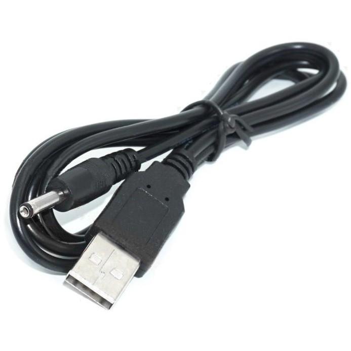 Câble Jack DC 3.5 / 1.35mm Mâle vers USB-A Mâle 5V 1,2m
