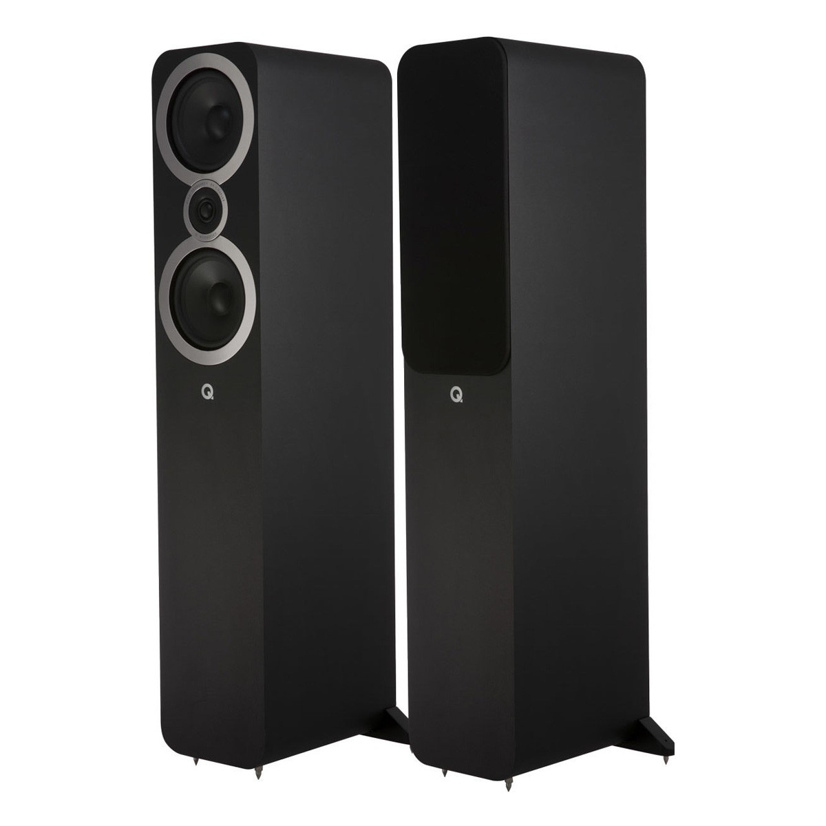 Q ACOUSTICS 3050i Floorstanding Speakers 44Hz - 30kHz 91dB Matte Black (Pair)