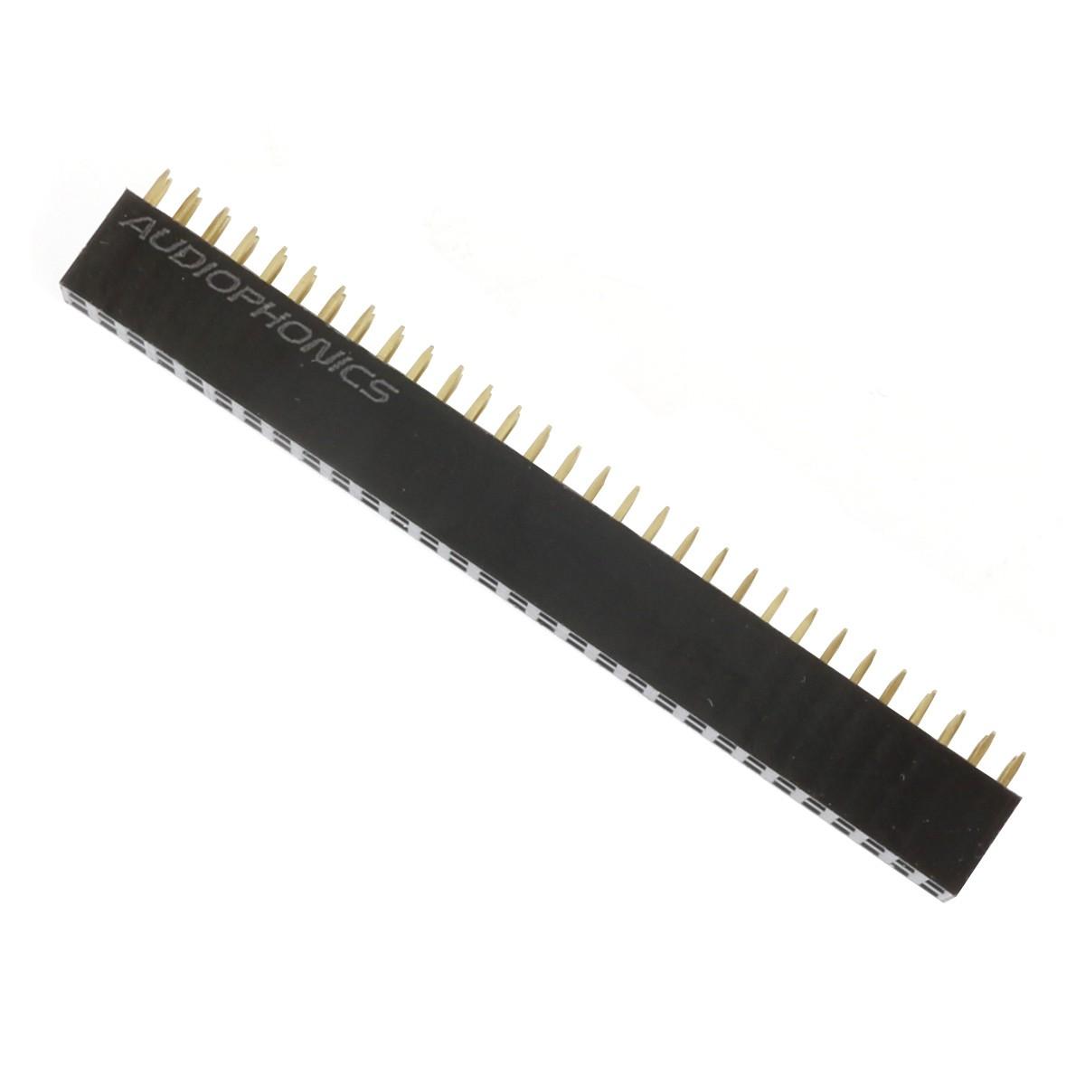 Connecteur Barrette 2.54mm Mâle / Femelle 2x30 Pôles 3mm (Unité)