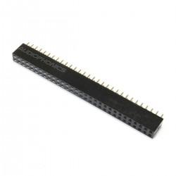 Connecteur Barrette Droit Femelle / Mâle 2x30 Pins Pas 2.54mm