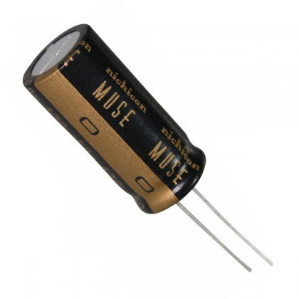 NICHICON KZ MUSE Audiophile Audio Electrolytic Capacitor 50V 100µF