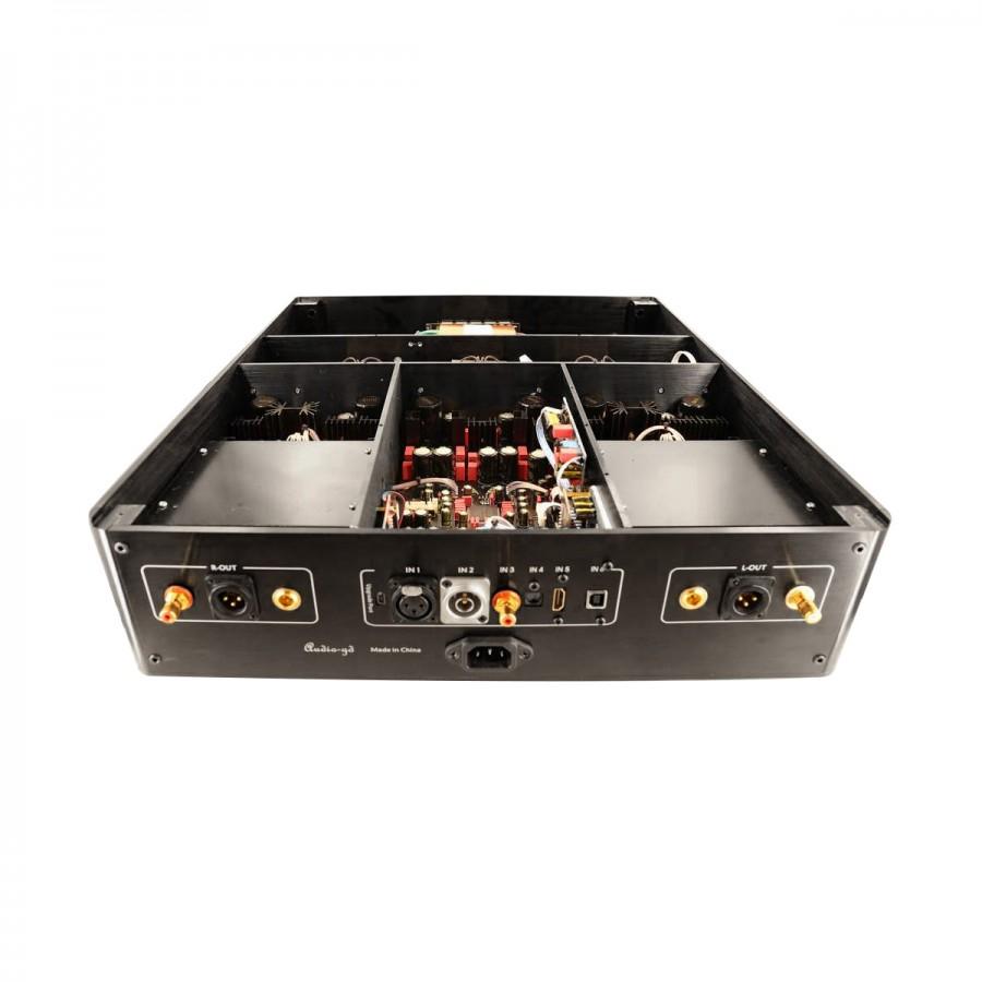 Audio Gd R 7he Balanced R2r Dac Fpga 2x Tcxo I2s Hdmi Amanero 32bit 2r Ladder Circuit Diagram Symtrique 384khz Dsd512 Regenerative
