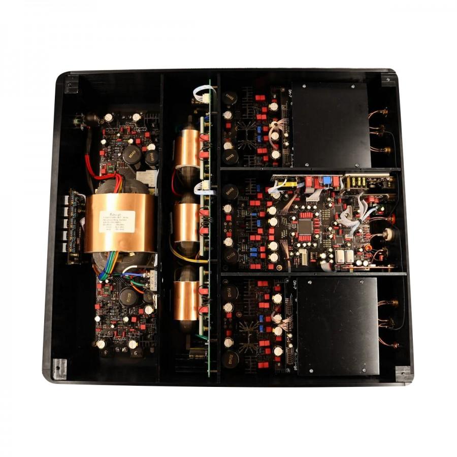AUDIO-GD R-7HE Balanced R2R DAC FPGA 2x TCXO I2S HDMI Amanero 32bit