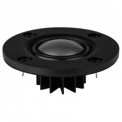 DAYTON AUDIO NHP25Ti-4 Speaker Driver Dome Tweeter 40W 4 Ohm 94dB 3000Hz - 20kHz Ø 2.5cm