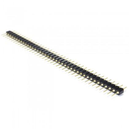 Connecteur Barrette 2.54mm Mâle Plaqué Or 40 Pôles 5mm (Unité)