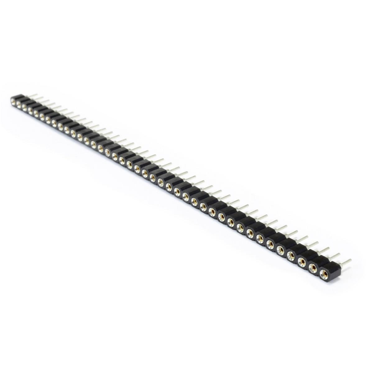 Connecteur Barrette 2.54mm Mâle / Femelle Rond 40 Pôles 5mm (Unité)