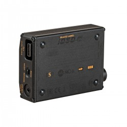 IFI AUDIO NANO iDSD BLACK LABEL Headphone Amplifier / DAC Burr Brown Bit Perfect 32bit 384kHz DSD256 MQA