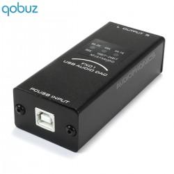 FX-AUDIO FX01 DAC USB stéréo PCM5102 24bit/96khz Noir