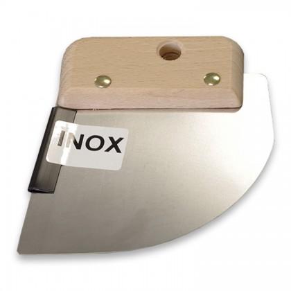 Spatule INOX pour fixation de tissu mural tendu sur profilés