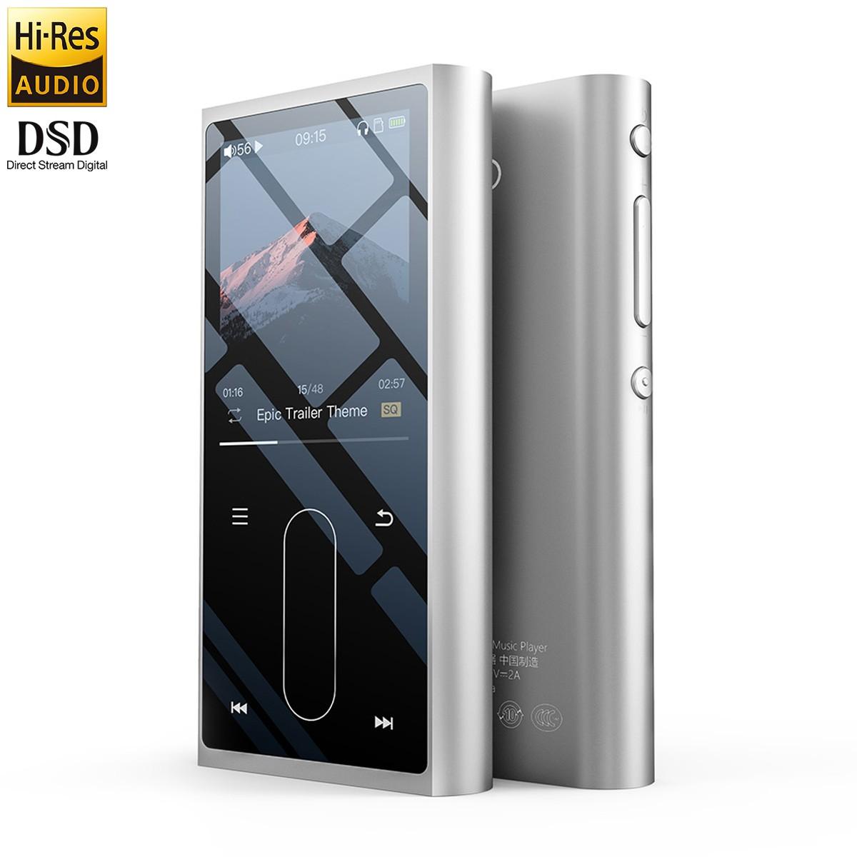 FIIO M3K DAP Digital Music Player HiFi DAC AK4376A Hi-Res 32bit 384kHz DSD64 Silver