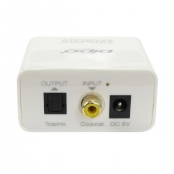 Coaxial to Optical Toslink SPDIF Digital Converter