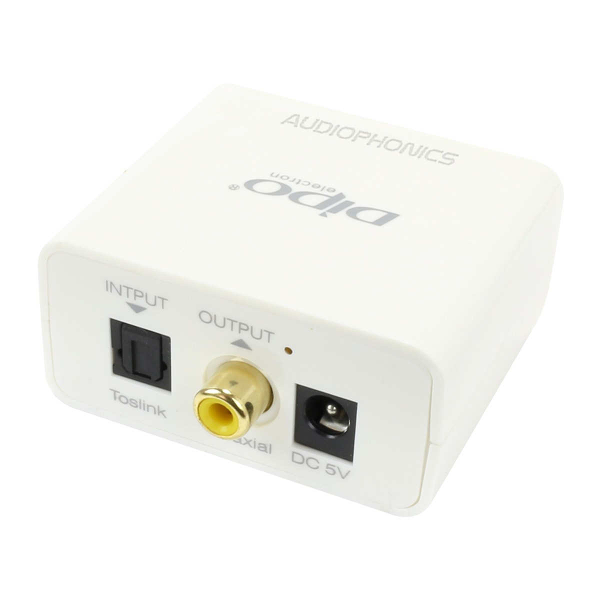 Optical Toslink to Coaxial SPDIF Digital Adapter