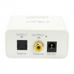 Optical Toslink to Coaxial SPDIF Digital Converter