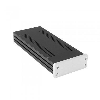 HIFI 2000 GX148 Aluminium Case 124x40x230mm Silver Front Panel