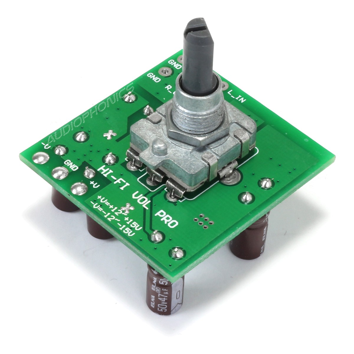 Module contrôle de volume PGA2310 avec Encodeur Rotatif