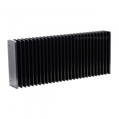 Anodized Heatsink Radiator 400x125x50mm Black