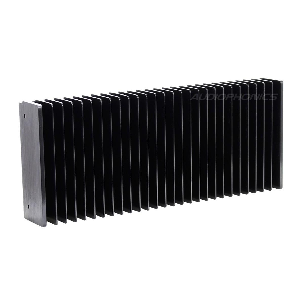 Anodized Heatsink Radiator 400x115x50mm Black
