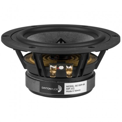 DAYTON AUDIO RS150P-4A Reference Speaker Woofer Paper 40W 4 ohm 90.3dB 45Hz - 10kHz Ø15cm