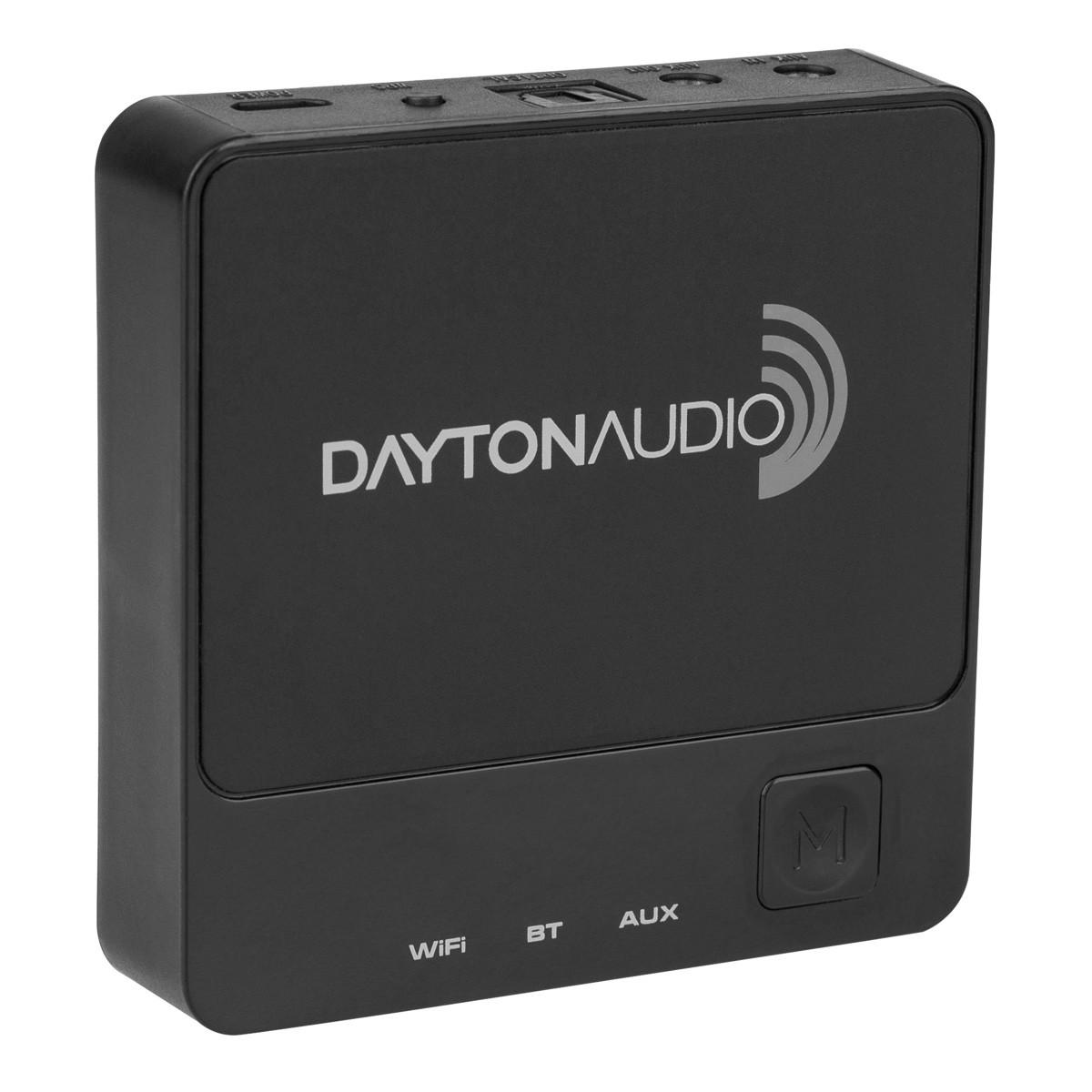DAYTON AUDIO WBA31 Récepteur WiFi / Bluetooth avec Télécommande